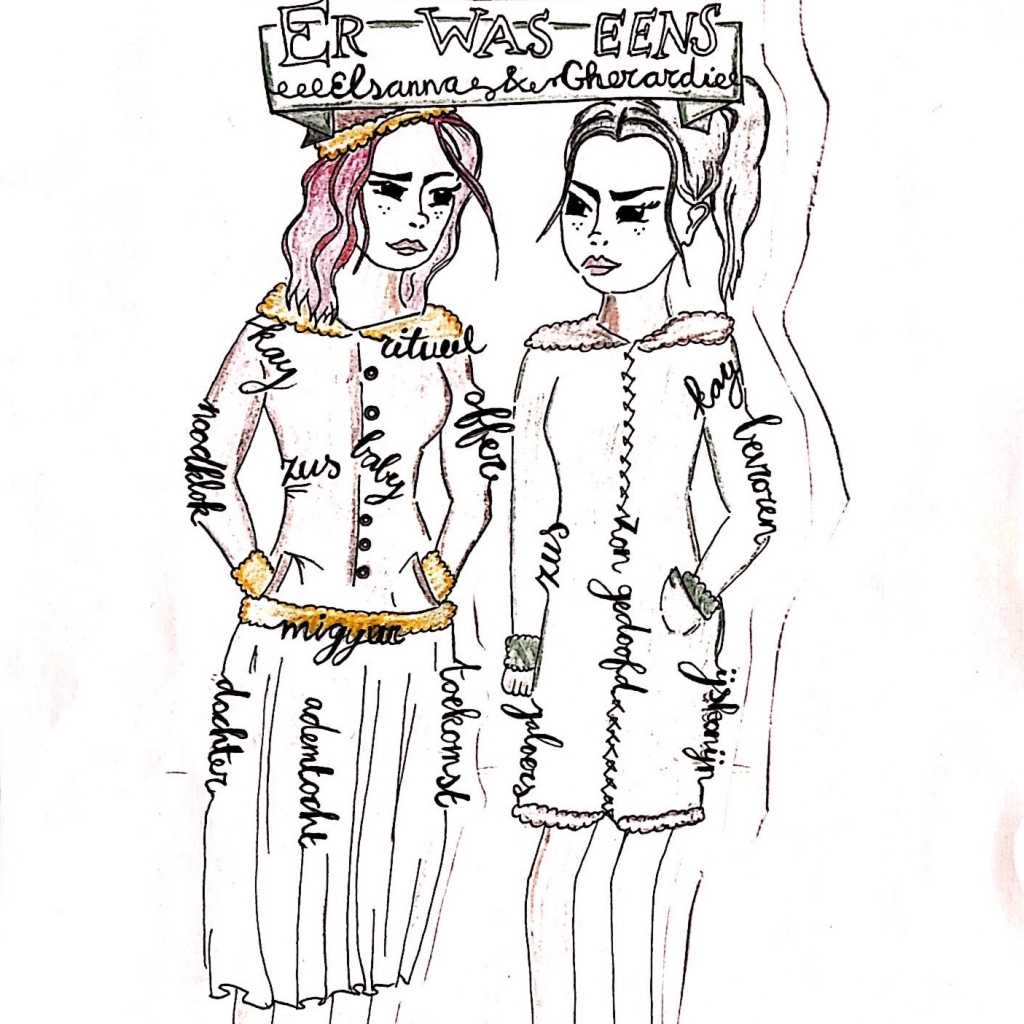 Fanart bij het verhaal Bevroren (c) Ybertha